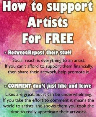 MEME - how to support artists
